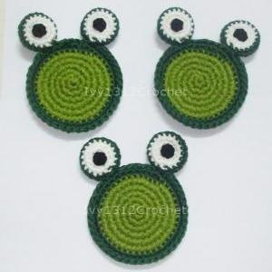 Frog Coasters (Set of 4) - Handmade..
