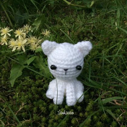Little Kitten - Handcrafted Crochet..