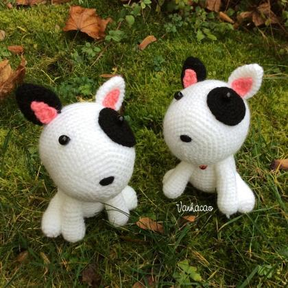 Puppy - Handmade Handcrafted Croche..